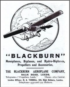Blackburn advert