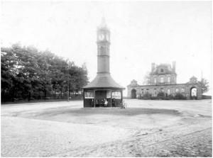 Clock in 1914