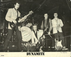 Autographed photo of Dynamite courtesy of Krystyna Spink