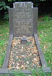 The de Relwyskow family memorial in St John's graveyard. Picture courtesy of Neville Hurworth